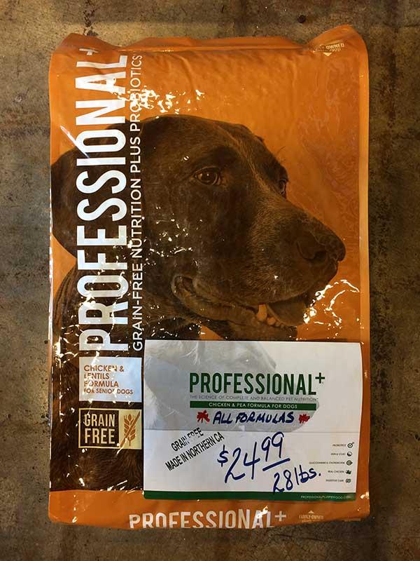 prfessional+ dog food